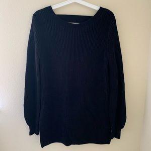 Black Tunic Sweater